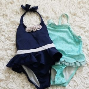 Toddler girl Swim suit bundle